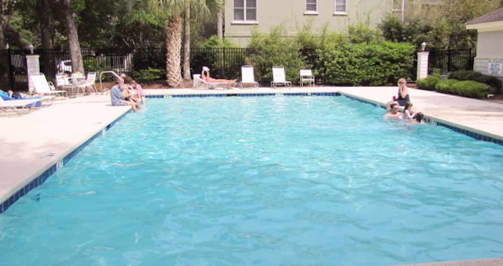 Pool at Ocean Green