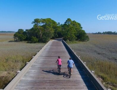 bike trails on kiawah island