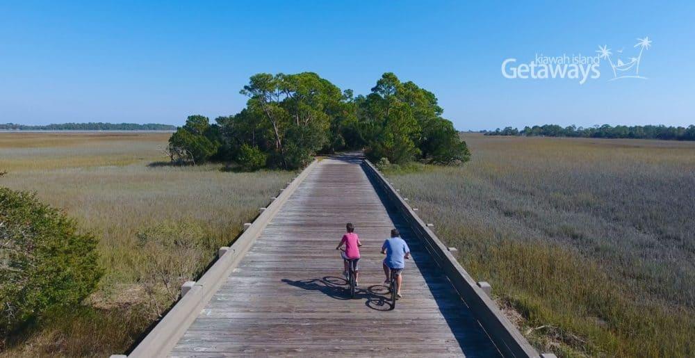 bike trails on kiawah island