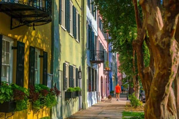 rainbow row things to do in Charleston sc