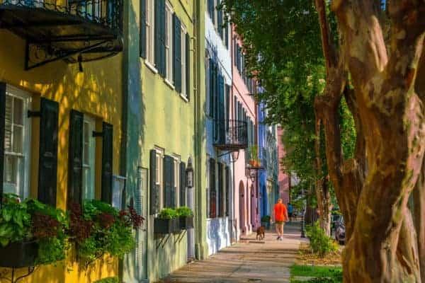 rainbow row things to do in Charleston sc