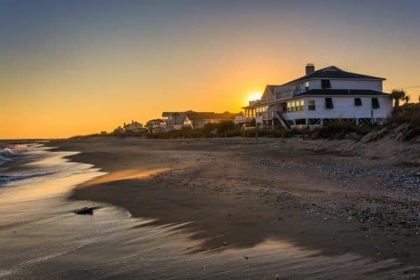 Edisto Island in South Carolina