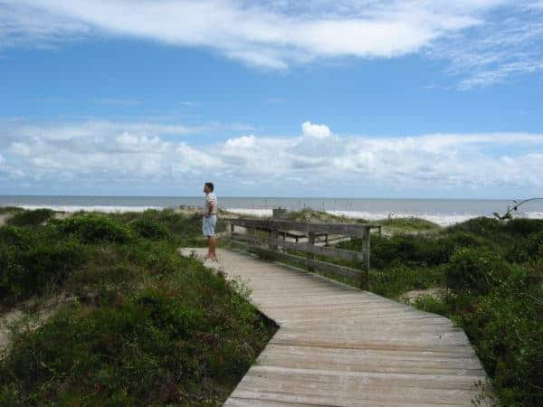 kiawah island boardwalk