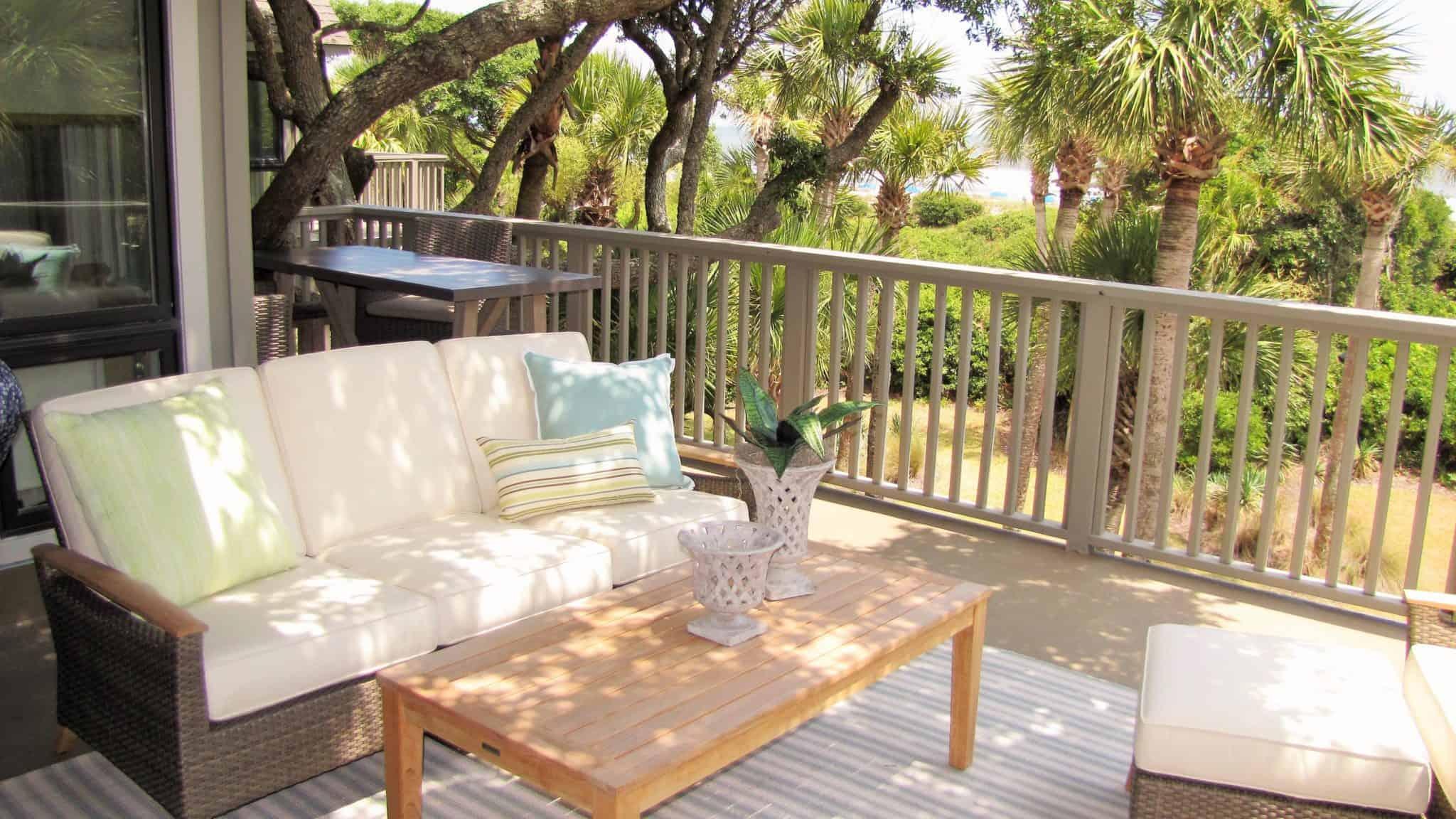 Outdoor living Kiawah Island