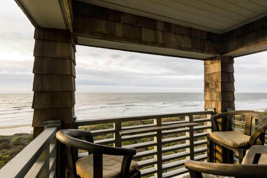 Villa view of Kiawah Island beach